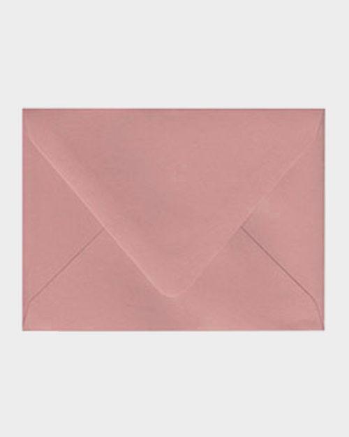 Vanha roosa matta kirjekuori / Dusty rose matt envelope