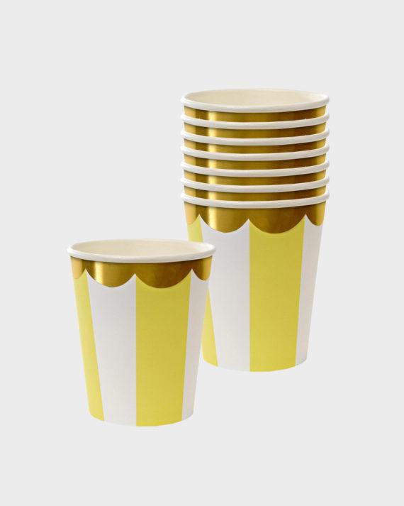 MeriMeri Party Yellow Cups Keltaiset Mukit