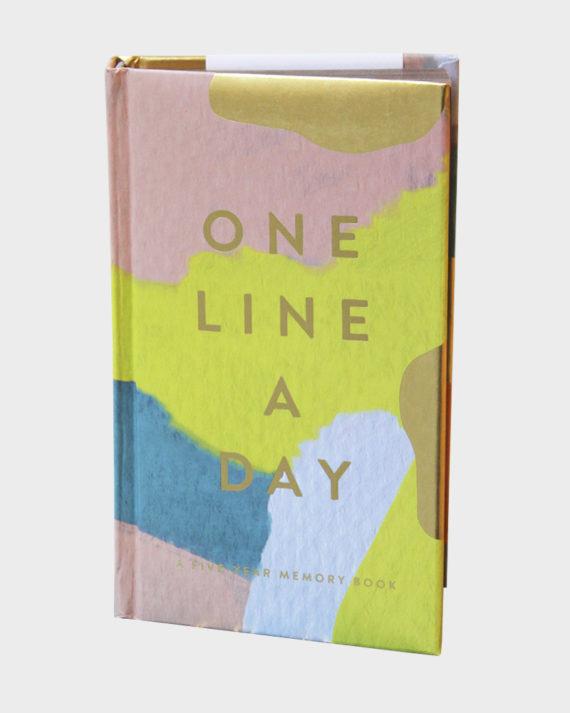 One Line a Day 5 diary / 5 vuoden päiväkirja