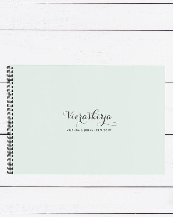 Papershop Vieraskirja Valokuva-albumi Classic Guest book Photo A