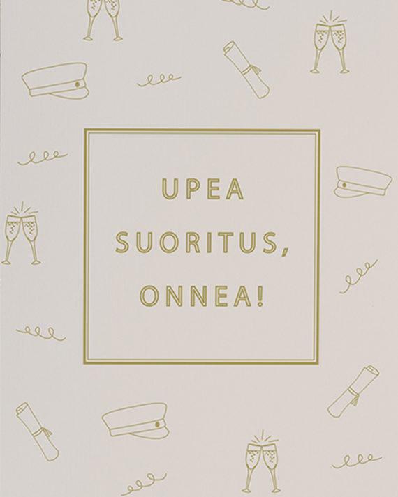 Papershop Painostudio Upea Suoritus Onnea Ylioppilas onnitteluko