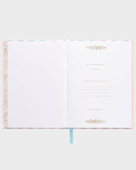 Rifle Paper co Cabana Fabric Journal Kangaskantinen Muistikirja