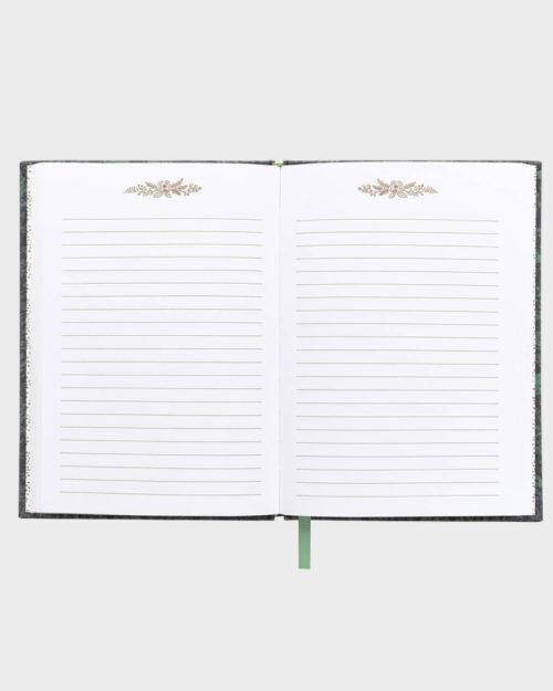 Rifle Paper co Fabel Fabric Journal Kangaskantinen Muistikirja