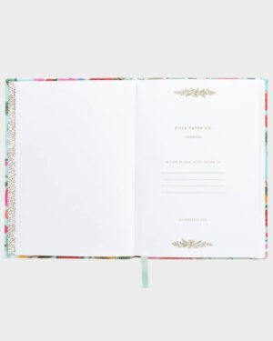 Rifle Paper Garden Party Fabric Journal Kangaskantinen Muistikirja