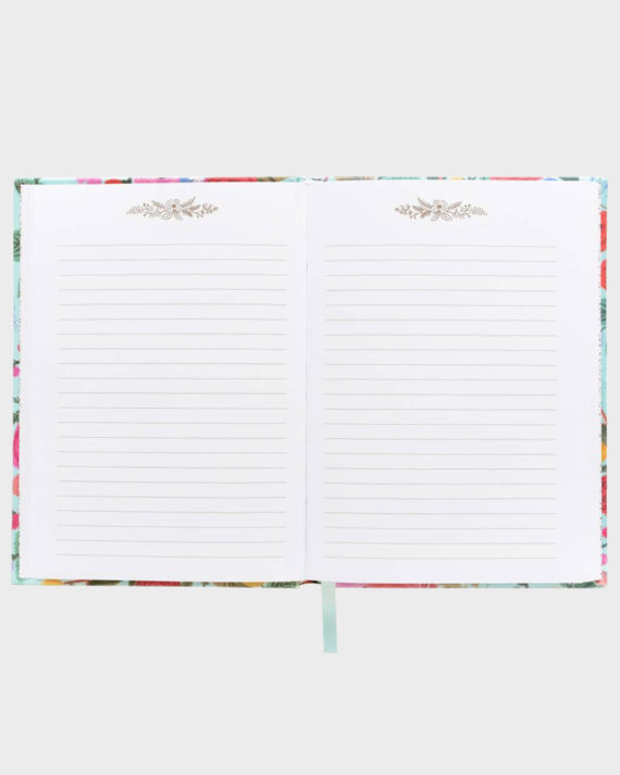 Rifle Paper co Garden Party Fabric Journal Kangaskantinen Muisti