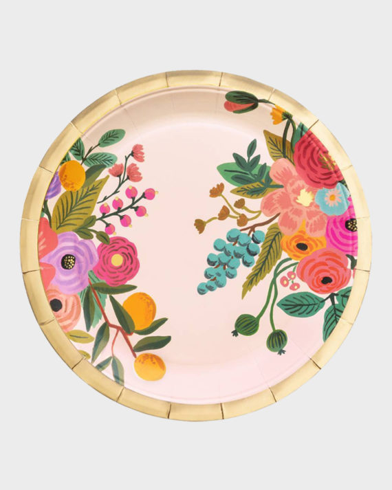 Rifle Paper co Garden Party Large Plate Iso Lautanen