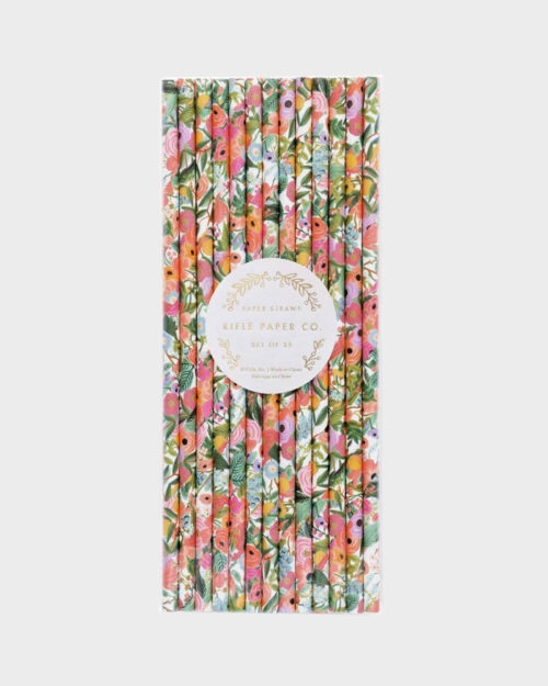 Rifle Paper co Garden Party Paper Straws Paperipillit