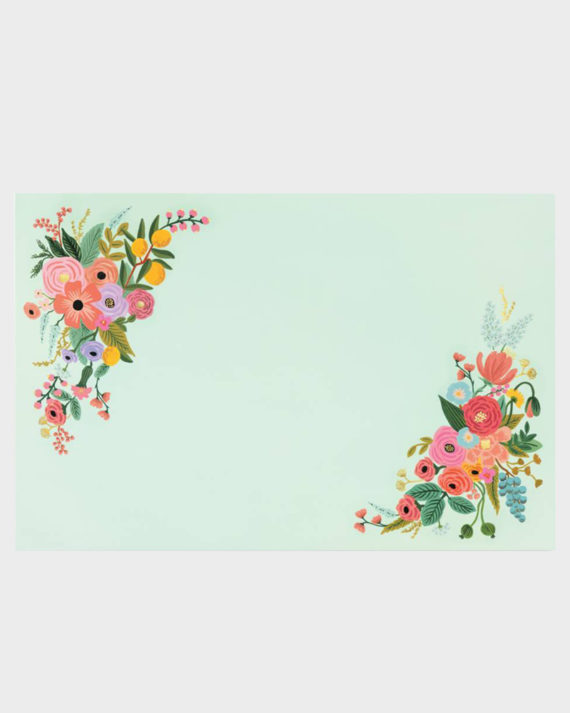 Rifle Paper co Garden Party Placemats Tabletit