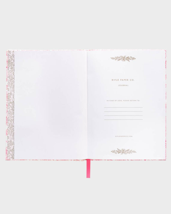 Rifle Paper co Moxie Floral Fabric Journal Kangaskantinen Muistikirja