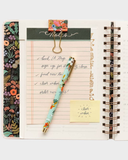 Rifle Paper co Binder clips Paperiklipsi