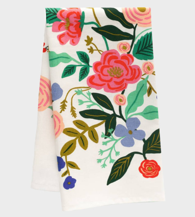 Rifle Paper co Floral Vines Kitchen Towel Keittiöpyyhe