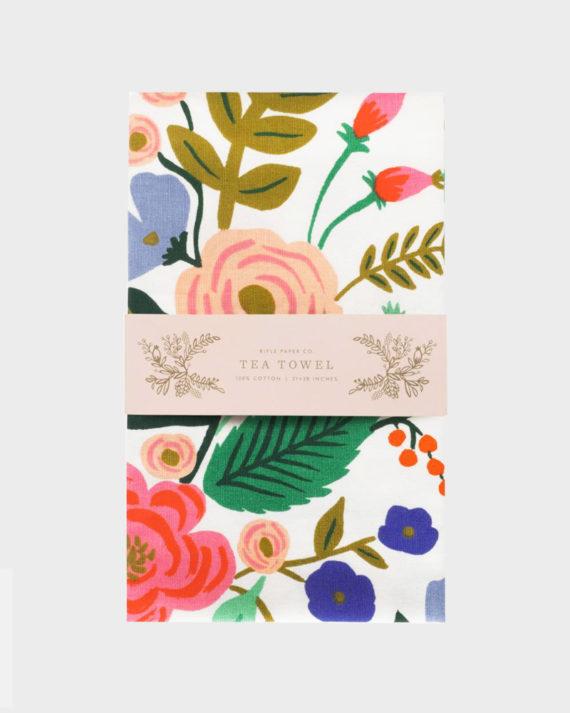 Rifle Paper co Floral Vines Kitchen Towel Keittiöpyyhe