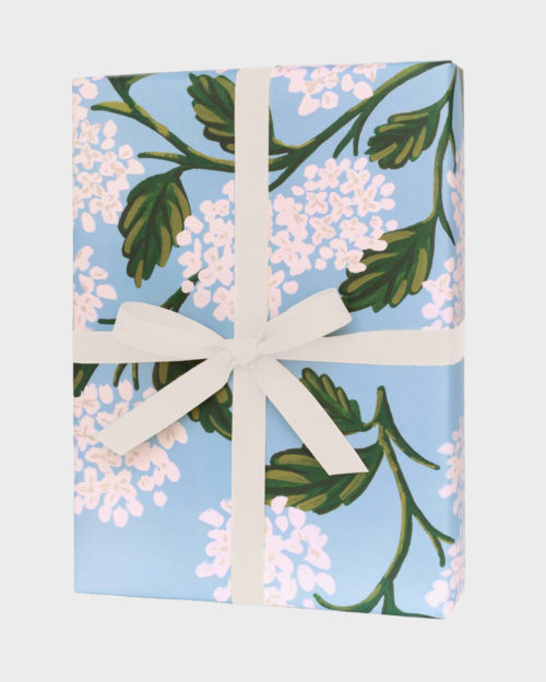 Rifle Paper co Hydrangea Wrapping paper sheets Lahjapaperi