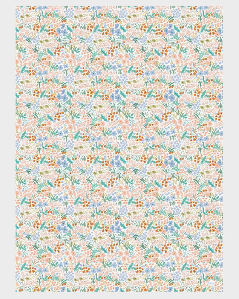 Rifle Paper co Meadow Pastel Wrapping paper sheets Lahjapaperi