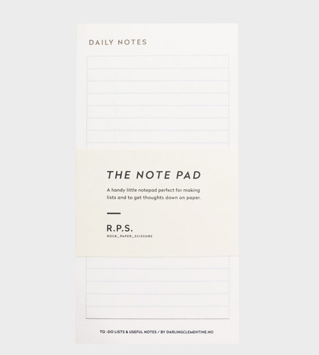 Darling Clementine Daily Notes Notepad Muistilehtiö