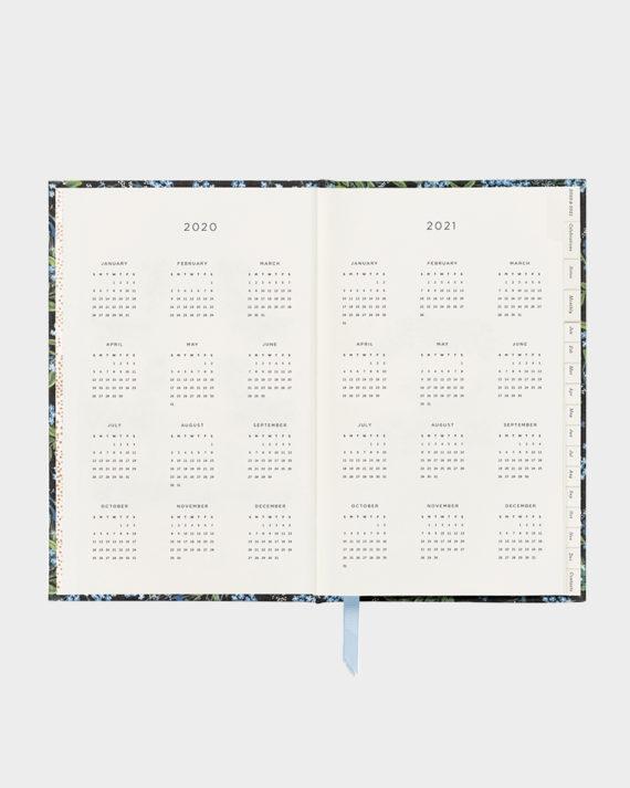 Rifle Paper co Cornflower kalenteri agenda planner calendar 2020