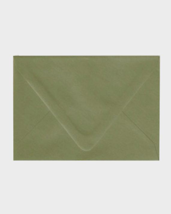 Papershop Helsinki / Kirjekuori Oliivi vihreä Envelope Olive green