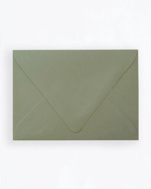 Kirjekuori oliivinvihreä