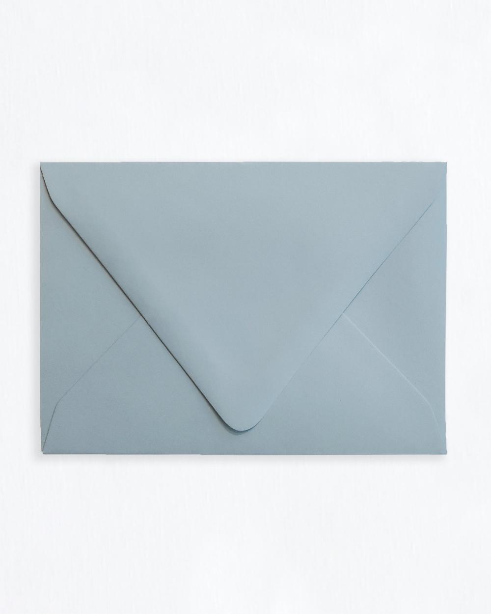 Kirjekuori siniharmaa