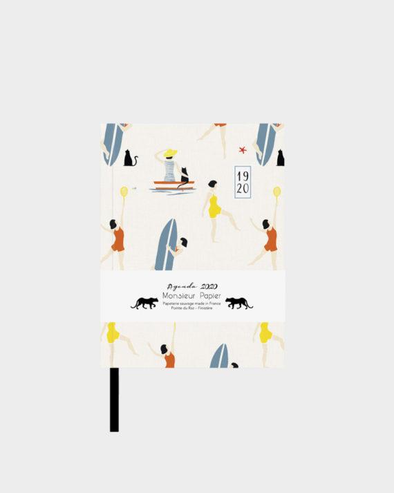 Papershop Helsinki Monsieur Papier Taskukalenteri Pocket Calendar Planner 2020