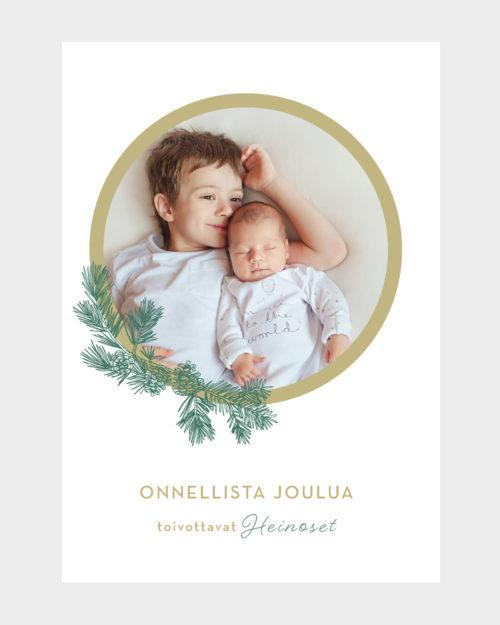 Papershop painostudio Classic Joulukortti omalla valokuvalla