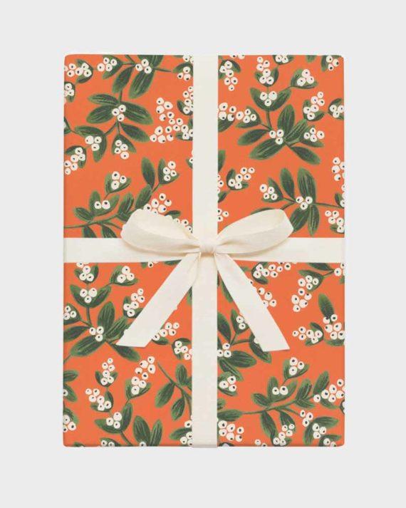 Joululahja lahjapaketointi lahjapaperi