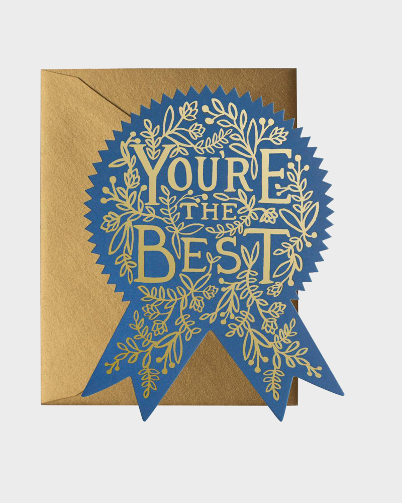 Rifle Paper co You are the best Greeting Card Onnittelukortti