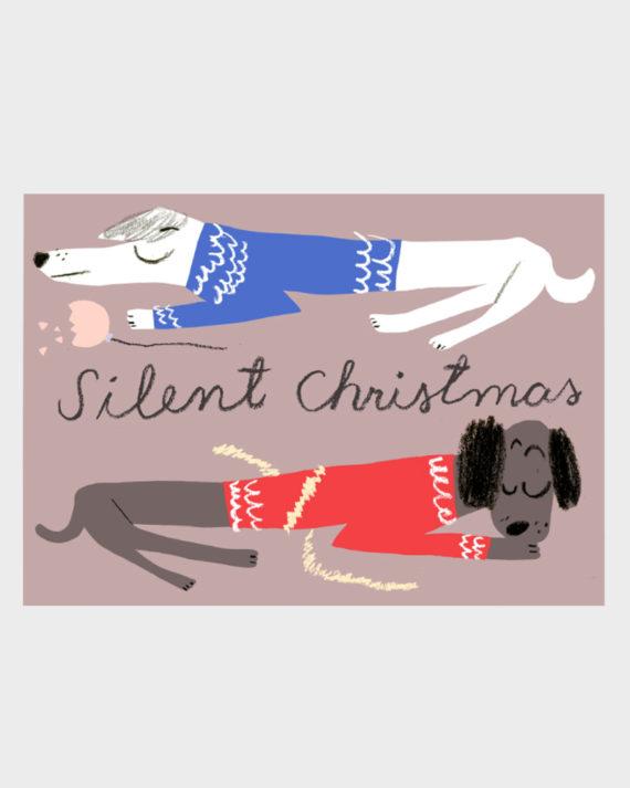 Kehvola Jumpers Koira Joulupostikortti