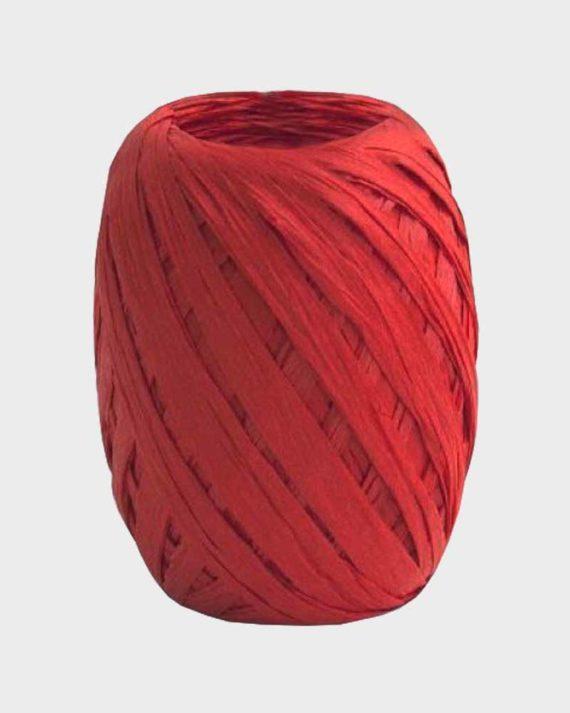 Punainen paperinauha lahjapakerointiin ja askarteluun