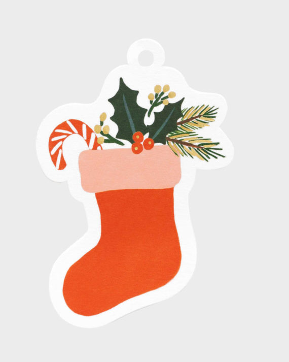 Joululahjaan Joulusukka pakettikortti