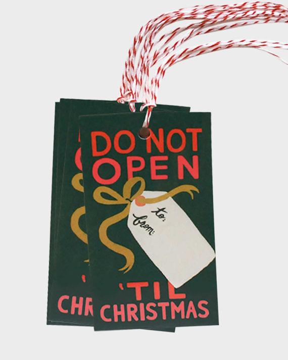 Joulupakettiin Joulupukki pakettikortti
