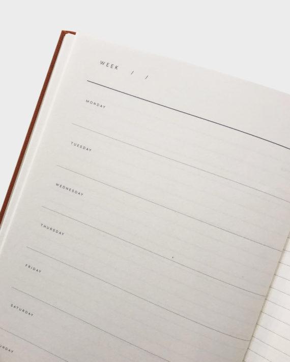 notem planner kalenteri muistikirja