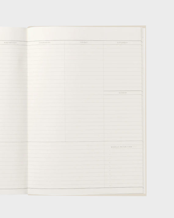 Weekly planner Viikkolista