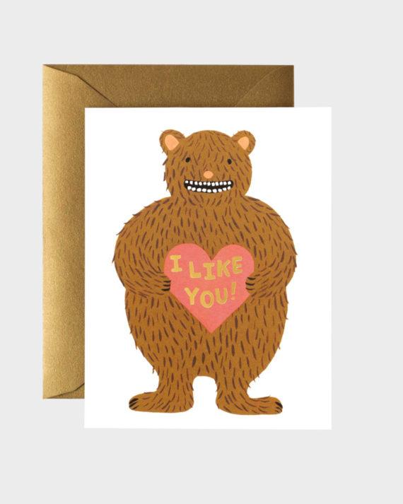 I like you Ystävänpäiväkortti
