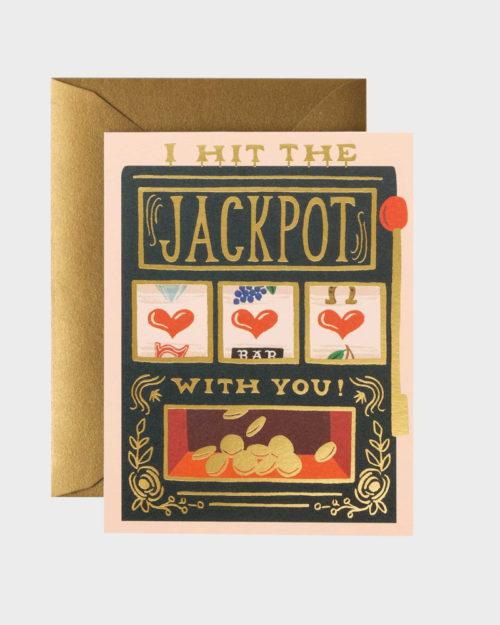 Jackpot Ystävänpäiväkortti Valenti'es day card
