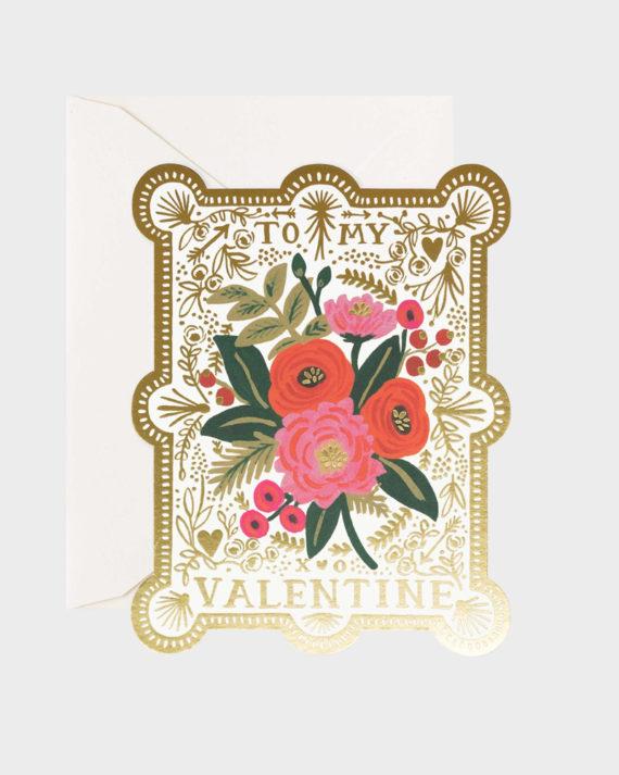 Ystävänpäiväkortti Valentine's Day card
