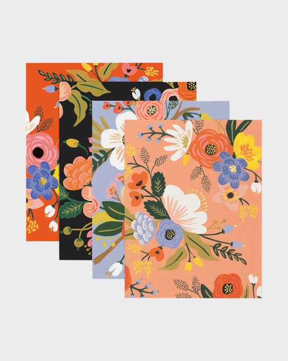 Lively floral korttipaketti kukkakuvio