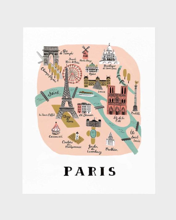 Pariisi juliste poster