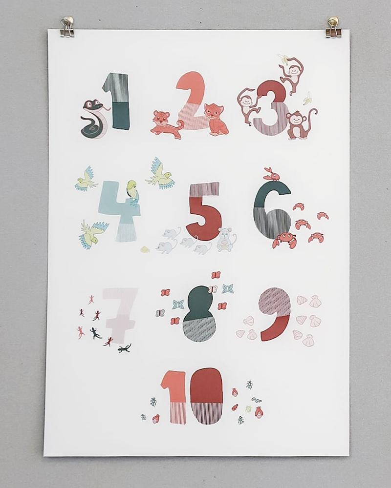 123 juliste poster