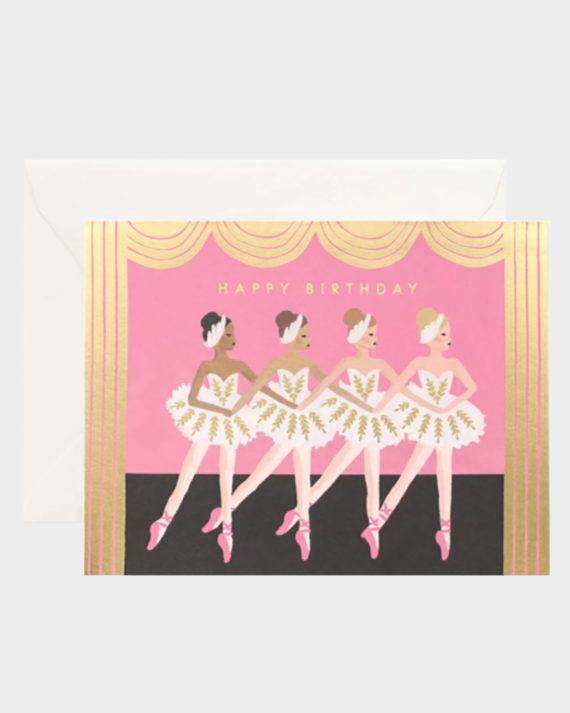 balleriina baletti kortti