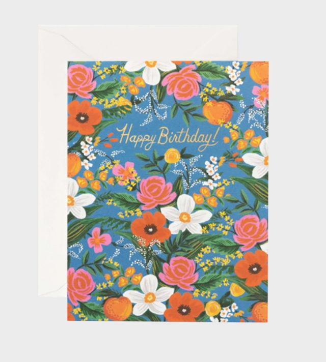 Orangerie birthday card