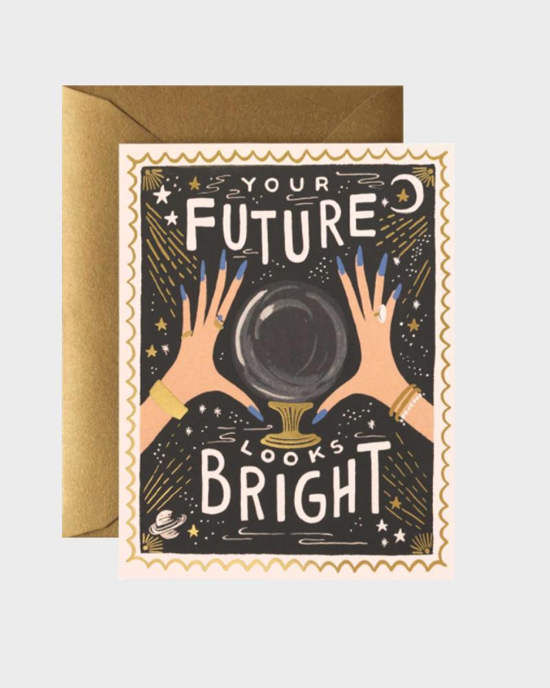 tulevaisuutesi näyttää valoisalta