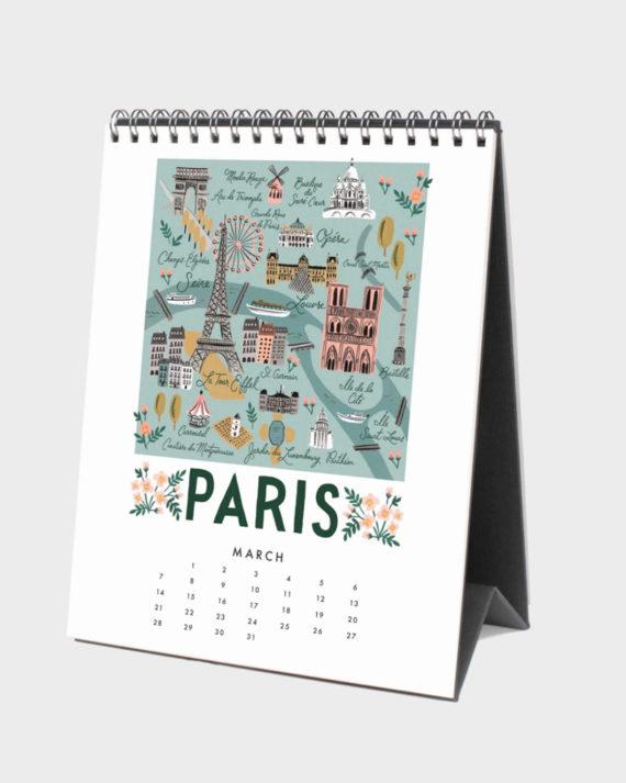 Pariisi kalenteri 2021