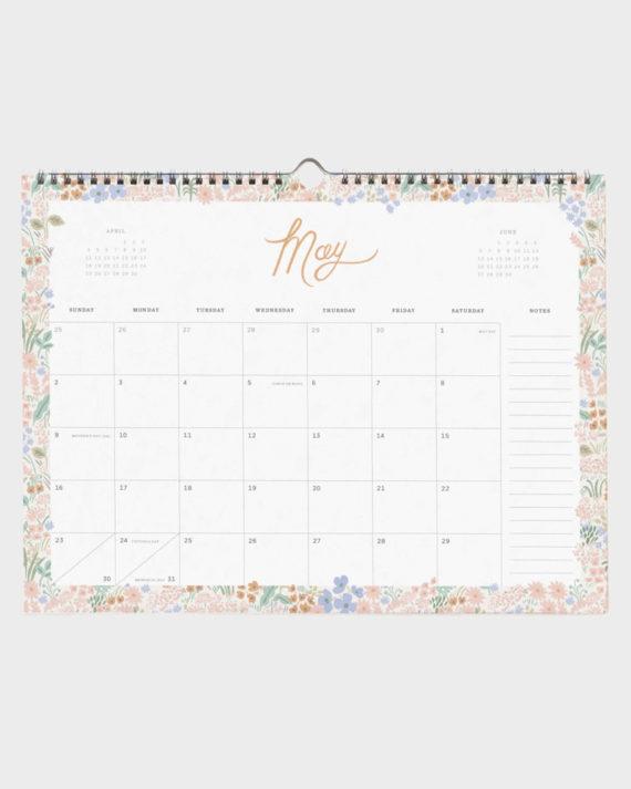 rifle paper calendar