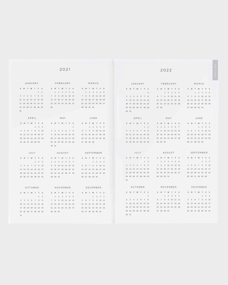 pocket planner 2021