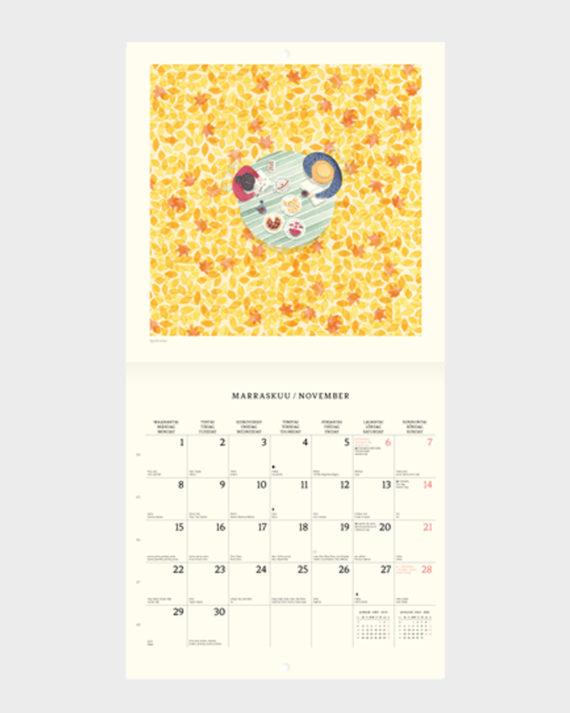 suomalainen seinäkalenteri 2021