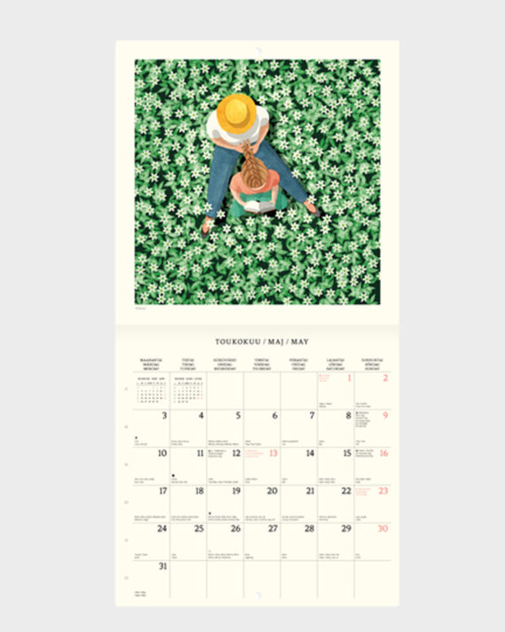 polka paperi kalenteri 2021