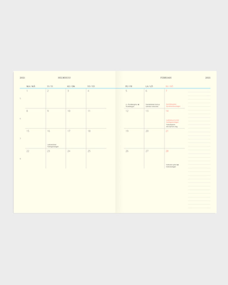 paperikauppa kalenteri