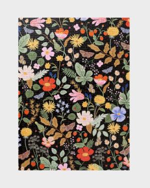 palapeli kukkakuviolla