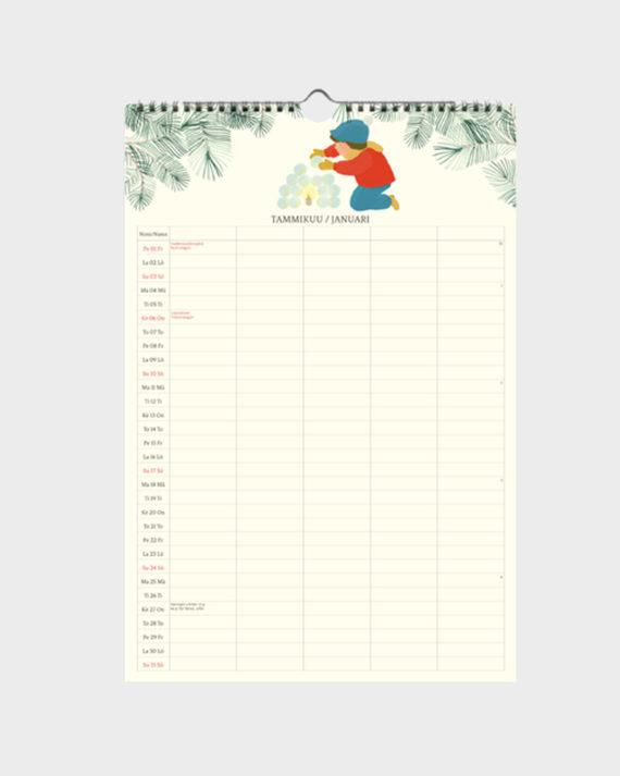 perhekalenteri 2021